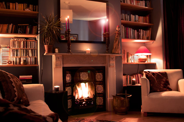 Bath English Homestay - cosy lounge