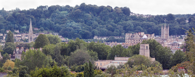 Bath English Homestay - view from your bedroom