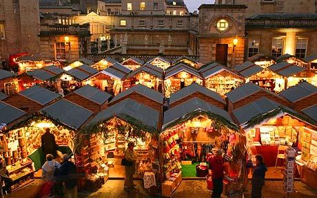 Bath English Homestay - Bath Christmas Market